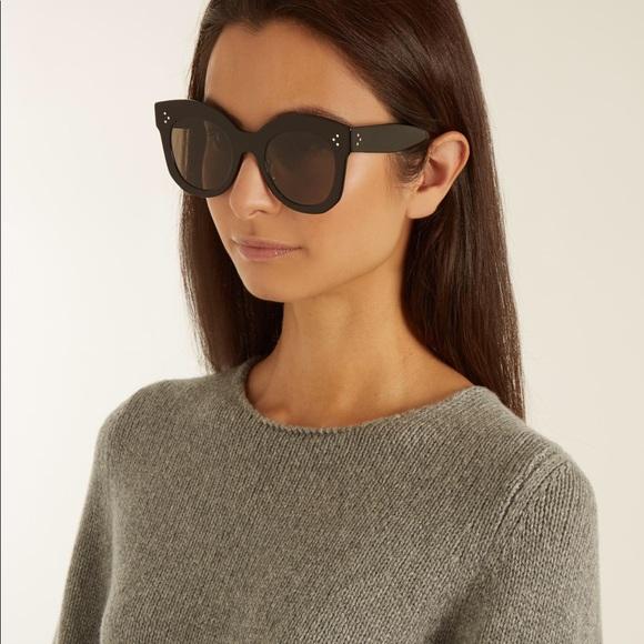 ab6b5781ec Celine Accessories - Céline Sunglasses Chris Black Oversized